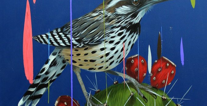 Frank Gonzales _Birds Paintings