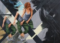 James Bullough -Realistic murals paintings