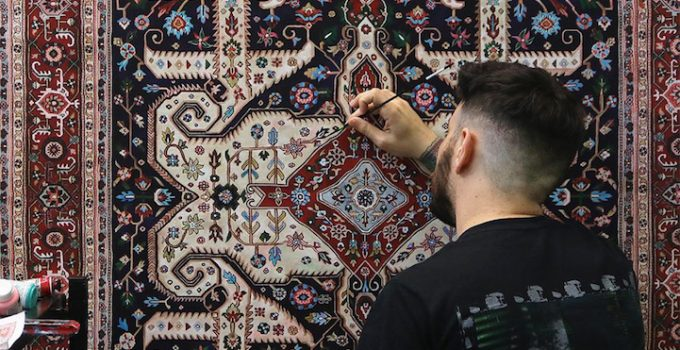 Jason Seife -Persian Carpets Paintings