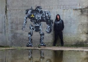 Various Works by UK street artist JPS