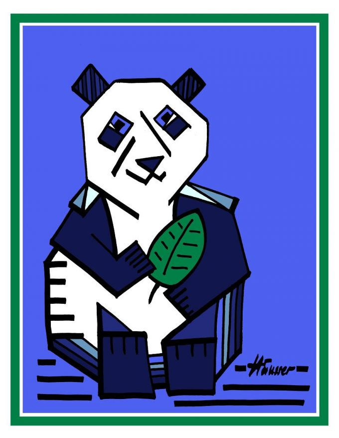 Peter Häusser The Blue Panda