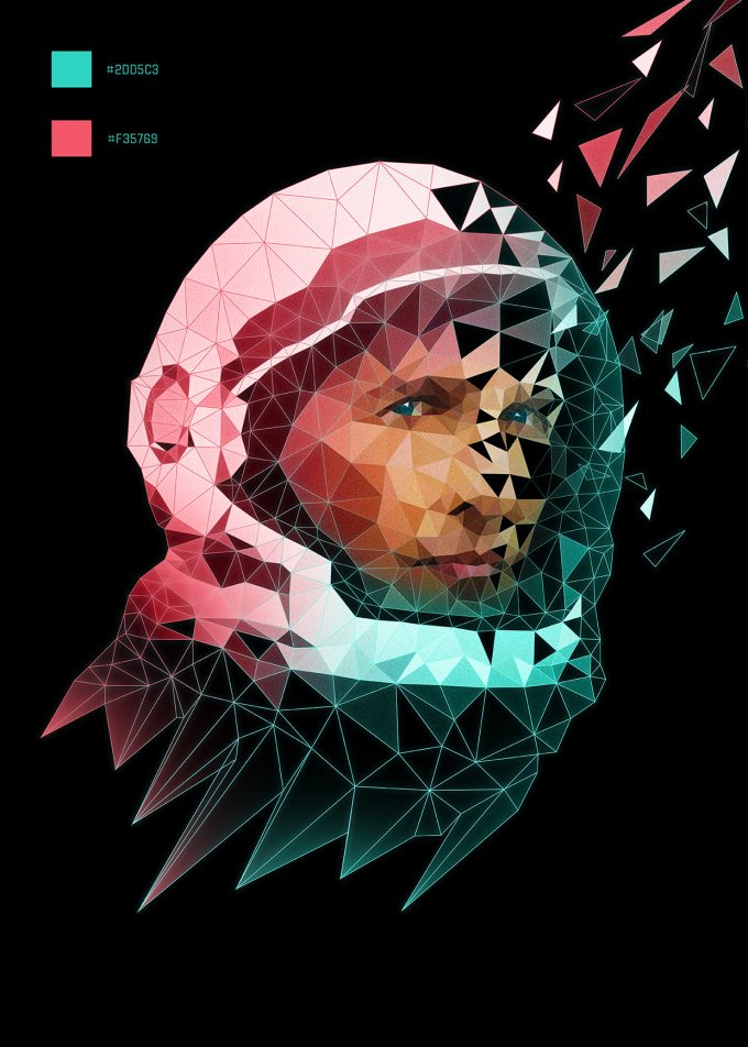 Interstellar Film Poster Design