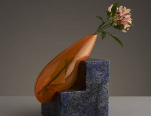 Glass Vases Sculptures by Studio E.O