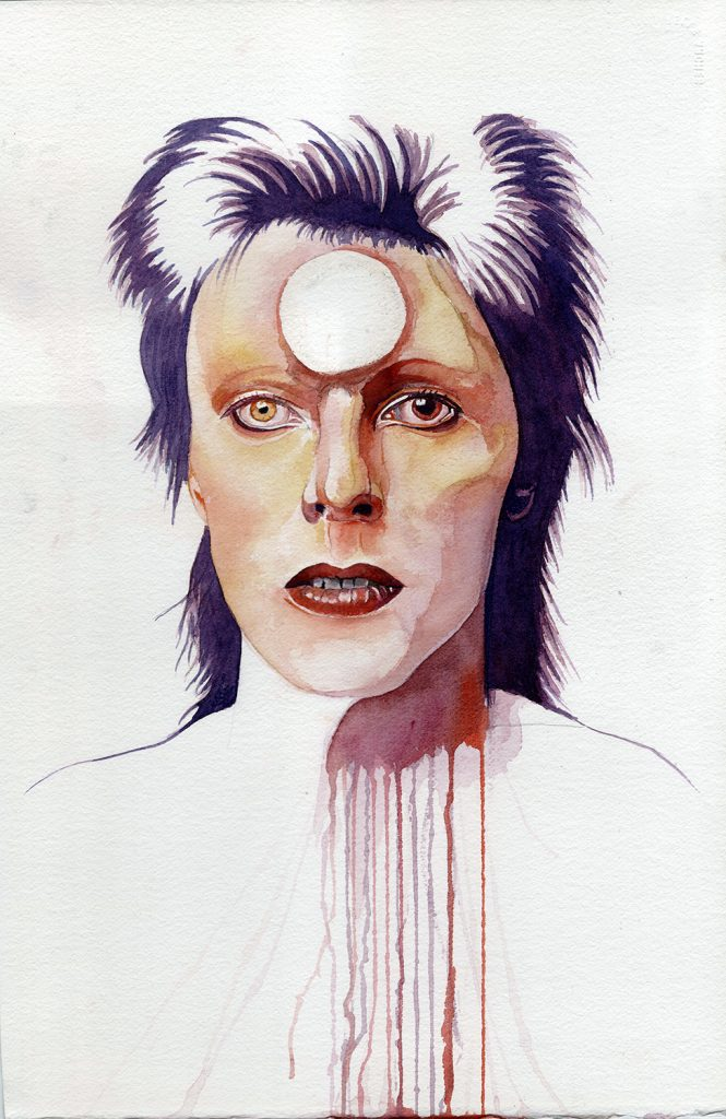In honor of a legend of music - Mr David Bowie, our Starman.