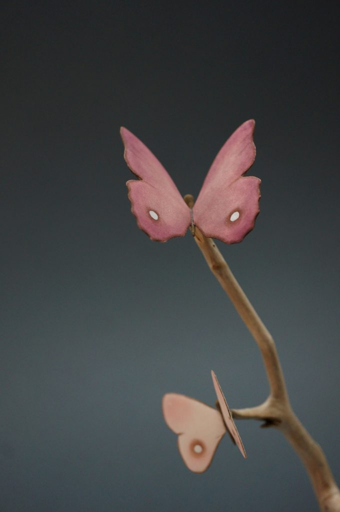 Big pale pink Butterfly