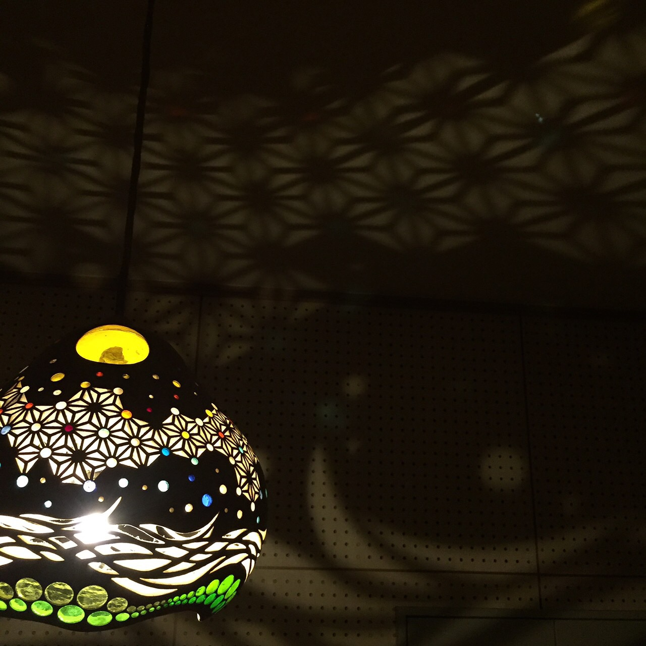 Etc. There Gourd Lamps Are Numerous Carved Traditional Pattern, Style  Fitting The Glass Gourd Magic One And Only