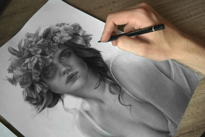 Jossluka Pencil Drawing #artpeople