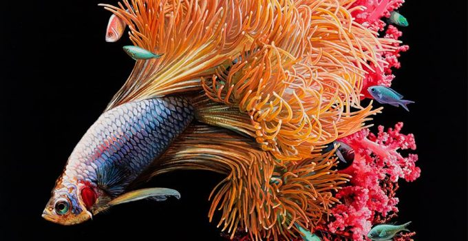 Lisa Ericson ,Hyperrealistic Paintings