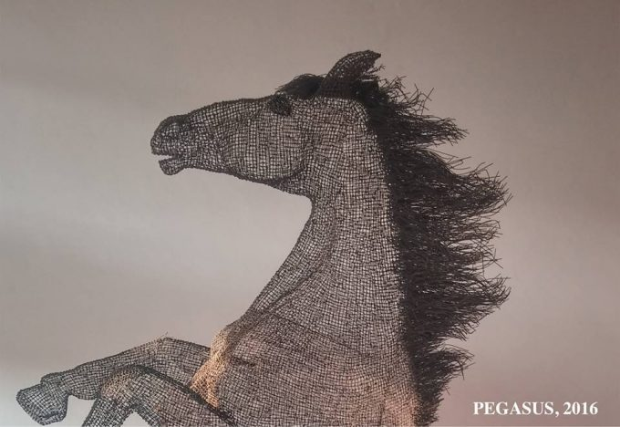 PEGASUS - 2016.The Baling Wire Sculptures by #guleraycan