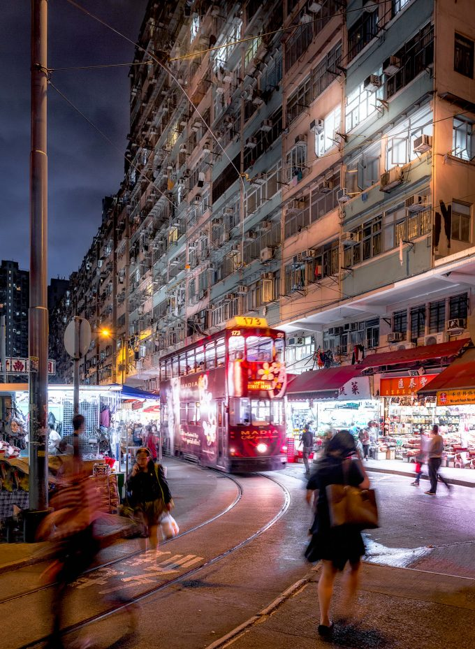 Tram Market.Remember Hong Kong by Andy Yeung Photography.