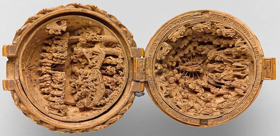 Th century miniature boxwood art people gallery