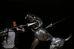 spear fighting-smilodon | Selcuk Yilmaz