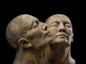 Anthropological Sculpture by Gaelle Weissberg