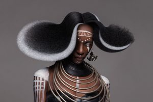 Stunning Afro Collection by hairdresser Lisa Farrall
