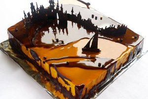 The Art of Mirror Glaze Cakes By Marie Troïtski #artpeople