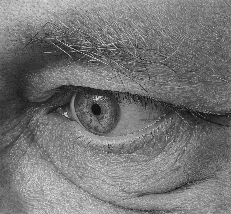 The photorealistic eye-drawings of Flavio Apel