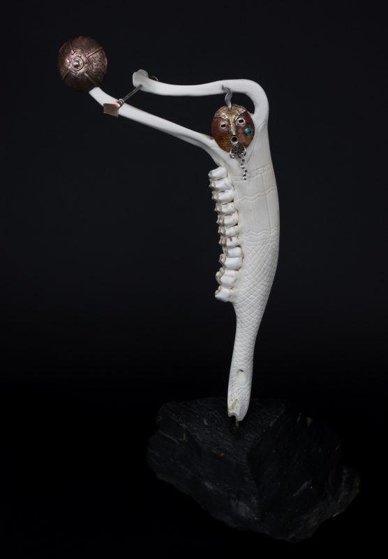 Keith Plummer Bone Sculpture