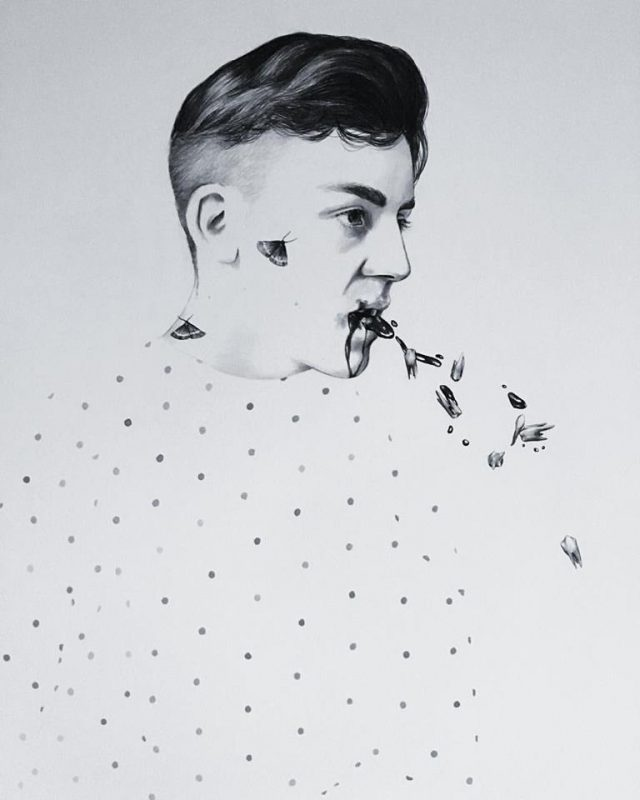 Drawn works by Ryan Pola