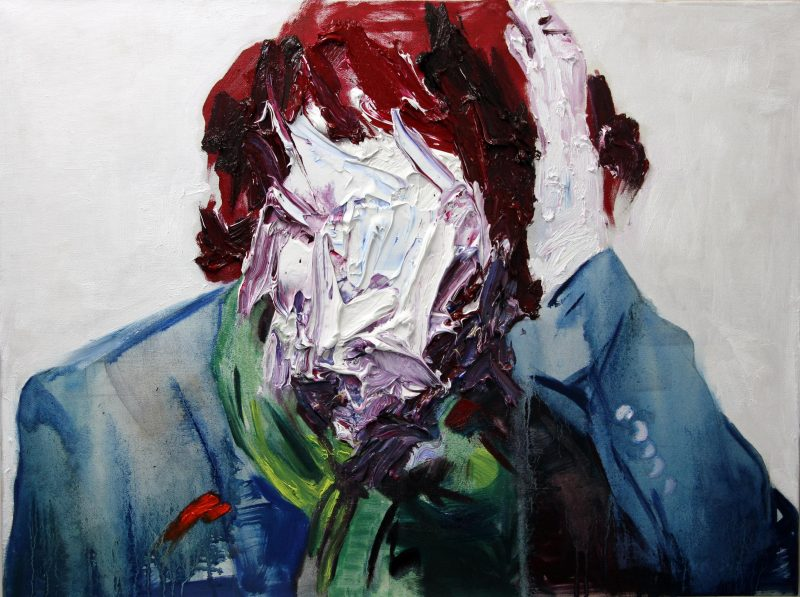 Self-portrait in painting | Ako Kamal