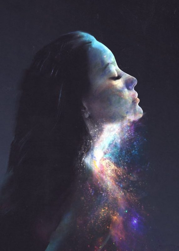 Galaxy Themed Women | Dániel Taylor