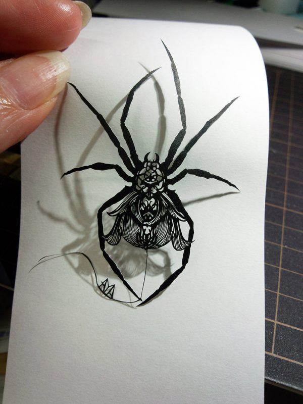 Super fine paper cut works | Aya Hosokawa