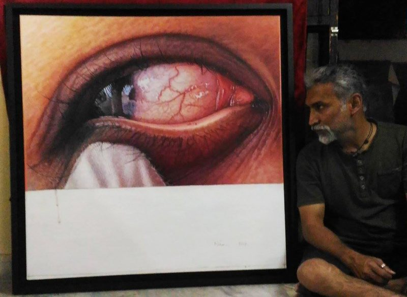 Hyrealistic painting by Nihar das
