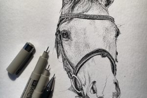 Personalized Pen Ink Art by Lilo van Wyk