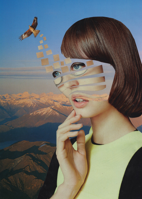 Surreal Paper Collages | Dilcia Giron