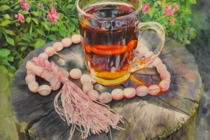 TEA SERIES | Reyhan Ardakanian - watercolor artist