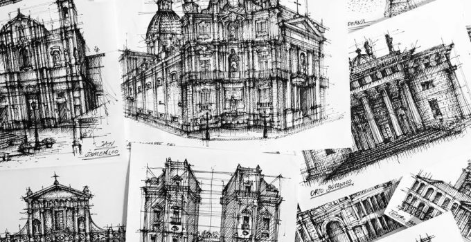 Architectural Drawing - Giuliana Flavia Cangelosi