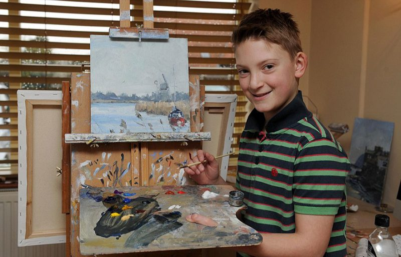 kieron williamson paints like an old master