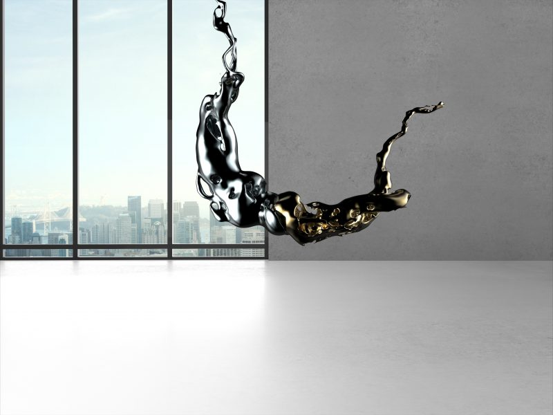 Breaking man, Copulations and Suspensions. Bronzes sculptures