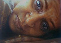 oil painting by Rajasekharan