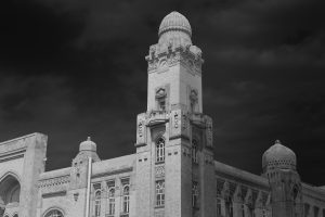 Black and White Fine Art Buildings