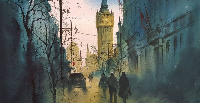 Stunning Watercolor Art by Javid Tabatabaei
