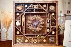Earthly Shadow Box Art