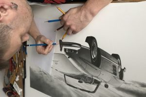 hyperrealistic carart / mariopichler paintings