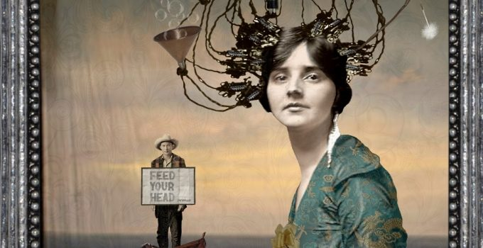 Joanne DeLomba Surrealist Digital Artist Extraordinaire focuses on women's movement