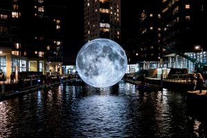 Museum of the Moon is a new touring artwork by Luke Jerram