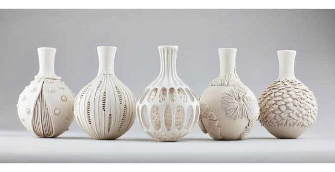 U.K.-based ceramic artist Anna Whitehouse
