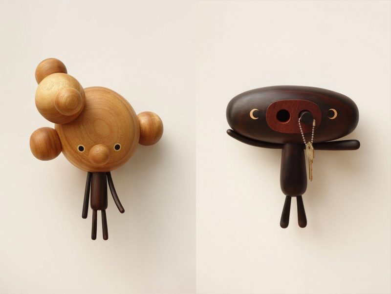 Artist Yen Jui-Lin carves delightful cartoon-like figures from wood