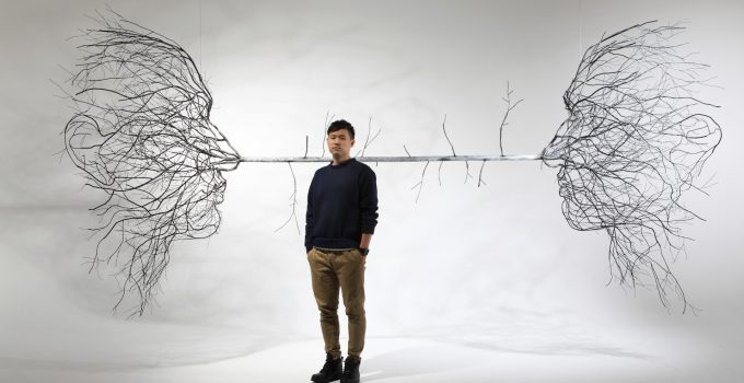 Metal Root Sculptures by Sun-Hyuk Kim