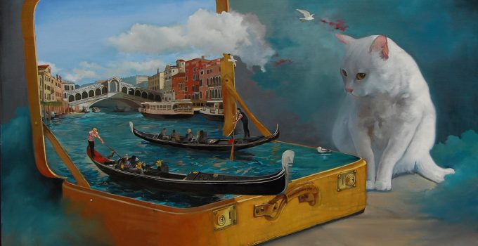 The surrealist art of Alex Ghizea Ciobanu