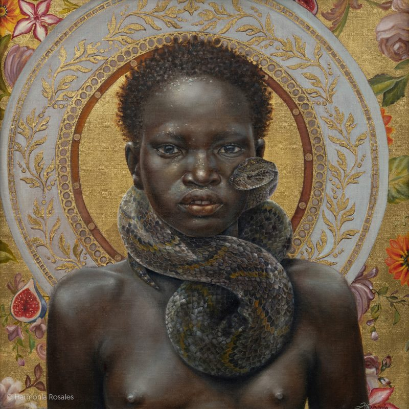 Portraits of Black Figures by Harmonia Rosales.