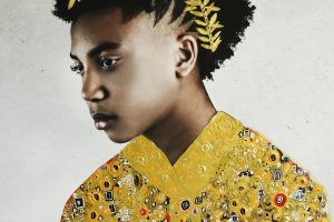 Portraits Embellished with Gold Garments by Artist Tawny Chatmon