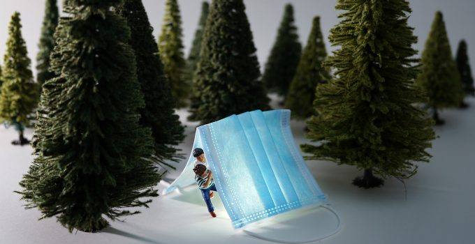 Transforming Masks, Toilet Paper, and Thermometers into Miniature, Outdoor Adventures by Artist Tatsuya Tanaka