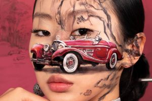 South Korean artist Dain Yoon creates stunning illusions using makeup.