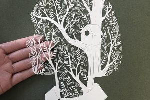 Incredible Paper Cut Artworks by Kanako Abe.