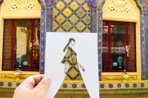 Design your dress with Thai Arts by PorChorRorGallery
