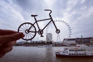 London-based paper artist and photographer Rich McCor (aka. paperboyo)